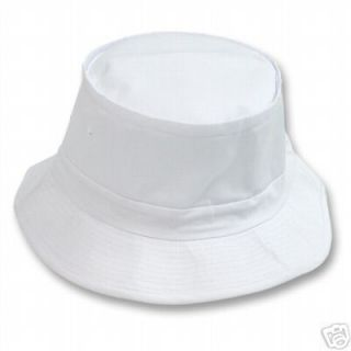 White Bucket Hat Hats Gilligan Halloween Costume S/M