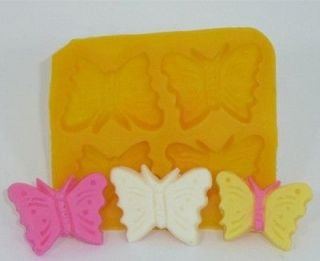 Cream Cheese Mint Mold 4 cavity Butterfly NEW CK candy fondant cake