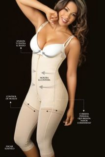 Colombian Capri Full Body Shaper Girdle, Post Partum, Faja Colombiana