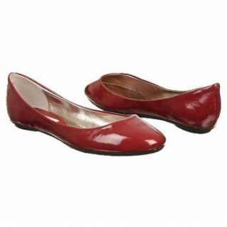 STEVE MADDEN Heaven RED Flats Ballet Shoes Womens Patent Leather New