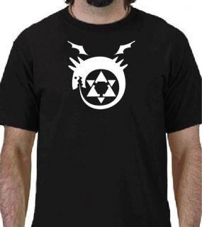 FULL METAL ALCHEMIST OUROBOROS Logo T shirt Anime Manga
