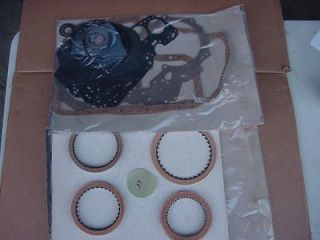 Chevy TH325 4L Banner Rebuild Kit. Borg Warner Brand clutches.