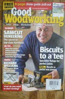 GOOD WOOD WORKING Magazine   Issue #225   Biscuits, Veneering