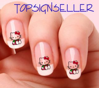 hello kitty nails in Nail Art