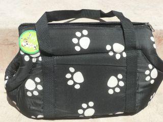 DOG TRAVEL BAG SOFT Pet Cat Travel Carrier / Tote Bag / 10 X18