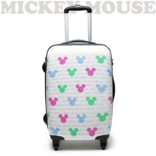 Art Weld Carry Case bag suitcase travel Mickey Mouse white Karamaru