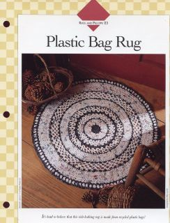 recycled plastic rugs