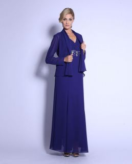 Mother of Bride/Groom Bridesmaid Dresses Formal Special Occasion Gown