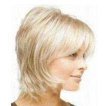 Stylish Short curly human made hair healthy wig/wigs+Gift
