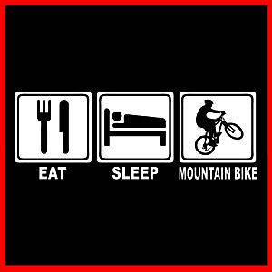 MOUNTAIN BIKE (Biker BMX Bicycle Evolution Parts Biking Wheel) T SHIRT