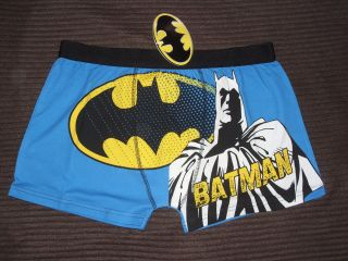 BNWT DC COMICS MENS BATMAN CHARACTER BOXER SHORTS COLOUR BLUE/MULTI