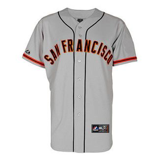 San Francisco Giants Adult Road Majestic Replica Jersey