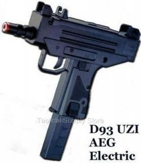 ELECTRIC AUTOMATIC UZI MAC 10 AIRSOFT GUN SMG AUTO PISTOL rifle 6mm bb