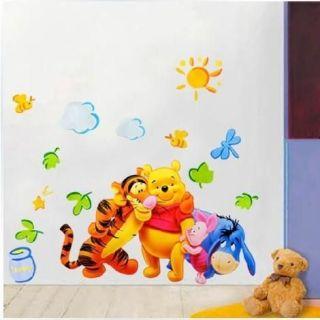 Carton Wall Stickers Home Decor Paper Nursery Kids Wall art 60cm*90cm