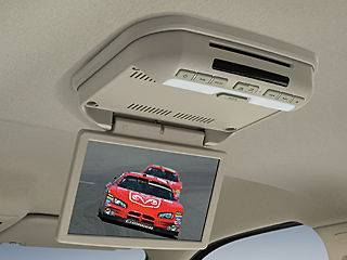 10 Overhead LCD DVD Player for 10 12 Dodge RAM Quad/Crew/Mega Cab