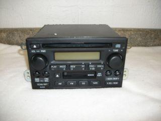 2004 Honda Crv Factory OEM Cd / Cassette Player 39101 S9A A510 M1