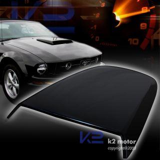 2005 2009 FORD MUSTANG GT V8 RACING HOOD SCOOP BLACK