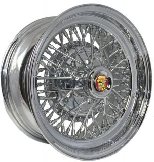 cadillac wire wheels in Car & Truck Parts