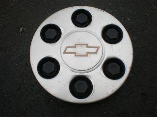 Chevy Silverado Truck Factory OEM Machined Wheel Center Cap 9595263