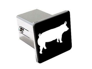 Pig   Hog   Chrome Tow Trailer Hitch Cover Plug