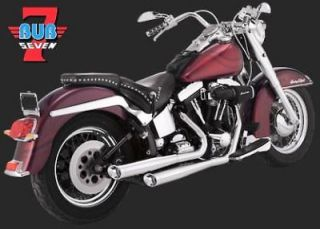 Bub 05 7008C Harley Softail Fat Boy and Deuce 2007 2011 Outward Slash