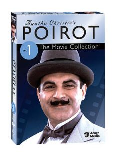 Agatha Christies Poirot The Movie Collection   Set 1 DVD, 2009, 3