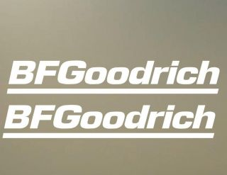 24 bf goodrich tires wheels rims JDM TRD ATV decal vinyl sticker