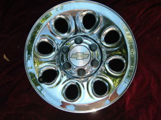 Chevy GMC 1500 Sierra Silverado Van chrome wheel rim 17 (Fits