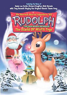 the Red Nosed Reindeer the Island of Misfit Toys DVD, 2001