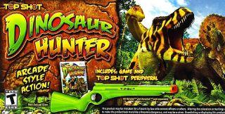 Top Shot Dinosaur Hunter Game Top Shot Gun Wii, 2011