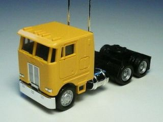 Herpa Promotex HO PB Pete Peterbilt COE Tractor w/ sleeper YELLOW 1:87