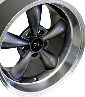 Anthracite Deep Dish Mustang ® Bullitt Wheels 17x9 & 17x10.5 Bullet