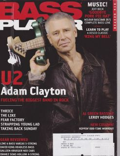 JAN 2006 BASS PLAYER guitar music magazine U2   ADAM CLAYTON