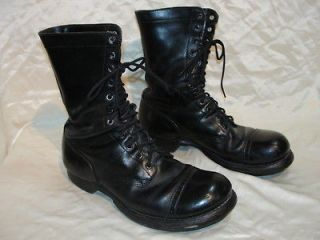 Vintage Corcoran Military Jump Boots size 9.5 E