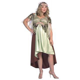 Mother Nature Plus Size Adult Womens Greek Goddess Diana Halloween