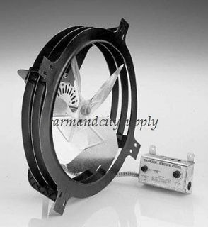 AIR VENT 53320 ATTIC AIRE GABLE MOUNT POWER FAN 1620CFM THERMOSTAT