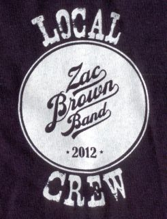 zac brown band shirts in Entertainment Memorabilia