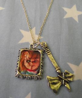 Childs Play/Chucky/Se​ed Of Chucky/Good Guy Doll Necklace