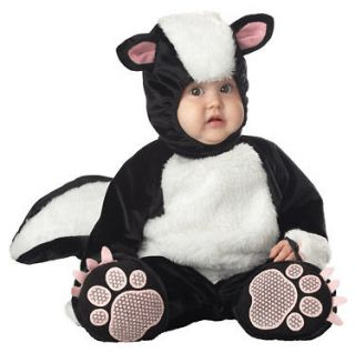 Baby Skunk Outfit Plush Infant Animal Fancy Dress Halloween Costume