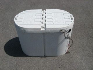 how to make a live bait tank for a boat