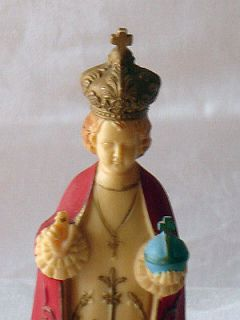 vintage infant of prague statue in Statues & Figures