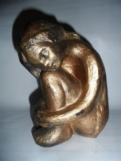 Beautiful Austin Products Statue Young Girl Child Vintage 1970