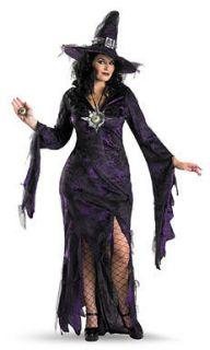 Sorceress Plus Size Womens Sexy Halloween Costume