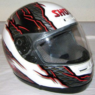 SHOEI Elite Serie FULL FACE Rare MOTORCYCLE HELMET Adult sz XS Men