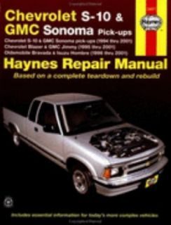 Chevrolet S 10 and GMC Sonoma Pick Ups, Chevrolet Blazer and GMC Jimmy