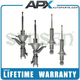 1410   SHOCKS STRUTS for Honda Civic, Full Set, 4 Pcs, NEW, Warranty