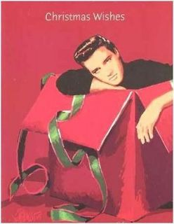 18 YOUNG ELVIS PRESLEY CHRISTMAS CARDS Gift Box KING OF ROCK & ROLL
