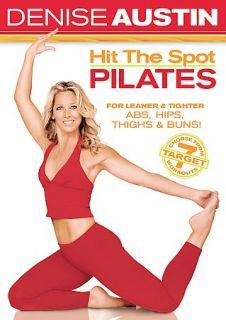 Denise Austin   Hit the Spot Pilates DVD, 2005