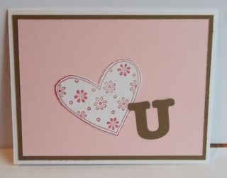 Up handmade greeting card valentine love you PY LOT anniversary kisses
