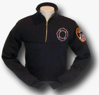 OFFICIALLY LICENSED FDNY JOB SHIRT PULLOVER (XS   XL)